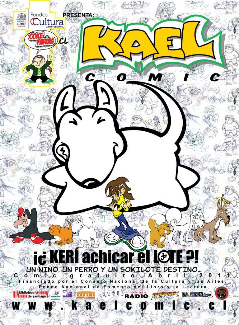 afiche KAEL COMIC